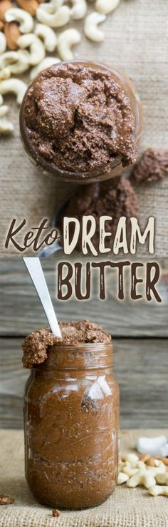 Our Homemade Almond Butter recipe is high in fat and the perfect afternoon pick me up to eat on a spoon or spread on some keto bread!