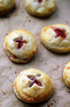 Rhubarb Cream Cheese Hand Pies | Joanne Eats Well With Others