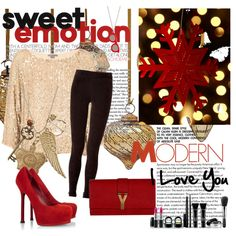 """Christmas !"" by nisaninna on Polyvore"