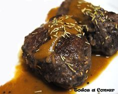 Receta de carrilleras al vino tinto Spanish Cuisine, Serious Eats, Food To Make, Steak, Food And Drink, Tasty, Beef, Cooking, Healthy