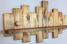 Rustic offset shelf offset shelves, wooden shelves, shabby chic decor, rustic home decor, rusti Shabby Chic Bedrooms, Shabby Chic Homes, Shabby Chic Decor, Rustic Homes, Diy Rustic Decor, Farmhouse Decor, Diy Home Decor, Wooden Decor, Country Decor