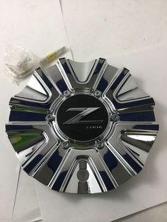 Set Of 4 Chrome Wheel Center Caps Fit Chevy Silverado Gmc