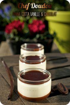 Panna Cotta Vanille & Chocolat