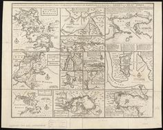 Particular draughts and plans of some of the principal towns and harbours belonging to the English, French, and Spaniards, in America and West Indies (8347484208).jpg