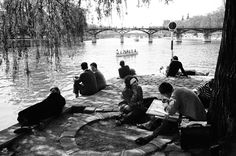 Seine River, Paris, France (1963) | Alfred Eisenstaedt