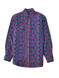 Wrangler Navajo Shirt Large
