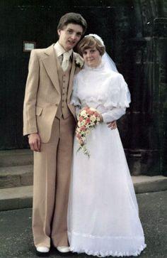 Ian Curtis wedding