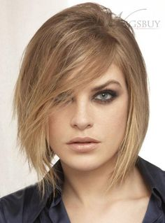Pleasant 100 Human Hair Short Full Lace Wig With Side Bang Men39Swigs Hairstyle Inspiration Daily Dogsangcom
