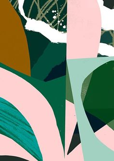 Tom Abiss. I like that this is very abstract. I like abstract art and the coloring in this is really working together. I love all the organic shapes.