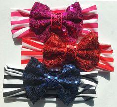 Sparkle Bow Headbands
