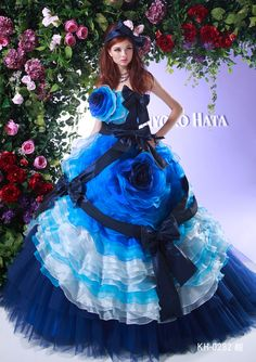 A Ball Gown.