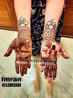 Imran mehandi Art Cont📲9312902889 Karva Chauth Mehndi Designs, Kashee's Mehndi Designs, Traditional Mehndi Designs, Wedding Henna Designs, Henna Tattoo Designs Simple, Engagement Mehndi Designs, Latest Bridal Mehndi Designs, Mehndi Design Photos, Mehndi Designs For Fingers