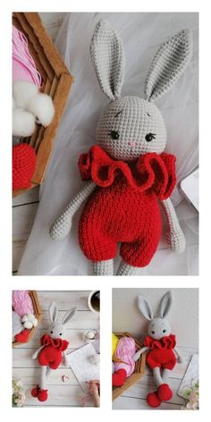 Educational and interesting ideas about amigurumi, crochet tutorials are here. Crochet Baby Toys, Crochet Toys Patterns, Amigurumi Patterns, Stuffed Toys Patterns, Crochet Dolls, Free Crochet, Knitting Patterns, Easy Knitting Projects, Crochet Projects