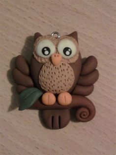 Image result for polymer clay owls
