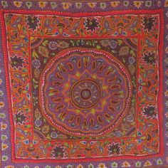 Patteh - traditional embroidery from Iran - Mr X Stitch