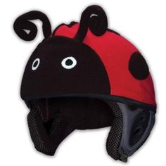 93d288da88a Lady Bug Crazy Helmet cover. Funky helmet cover 4 ski   snowboard Mental  Gear