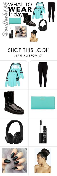 """Untitled #364"" by onfleek136 ❤ liked on Polyvore featuring Victoria's Secret, UGG Australia, Kate Spade, Beats by Dr. Dre, NARS Cosmetics and Boohoo"