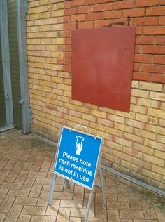 Is that sign really needed?