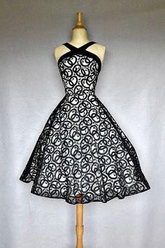 1950's party dress...gorgeous!