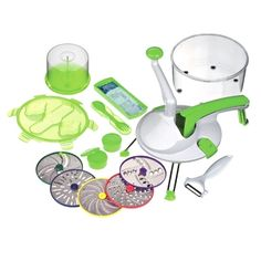 2014 New Roto Champ Nicer Dicer Plus Upgrades Vegetable Fruit Chopper Multi-Function Kitchen Tools Wholesale Kitchen Knives, Kitchen Tools, Pineapple Slicer, Electric Cooker, See On Tv, Champs, Rap, Stainless Steel, Cool Stuff