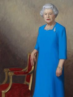 Portrait of the Queen, unveiled by the Duke of Cambridge