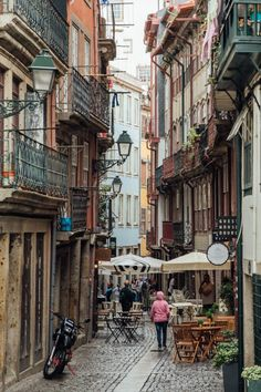 Walk the colorful winding streets of Porto's Ribeira and enjoy everything the neighborhood has to offer. Top Travel Destinations, Europe Travel Guide, History Of Portugal, Porto City, Porto Portugal, European Vacation, Heritage Site, Great View, Fishing Boats