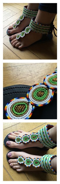 African Style shoes #5