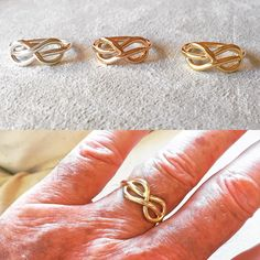 """The New Look of Love: my new Knot of Savoy ring for men in platinum, 20K rose gold and 18K yellow gold. The knot of Savoy also known as the Knot of True Love is the symbol of the Italian Royal family, the House of Savoy and was created by Thomas I Count of Savoy and incorporated to my family's coat of arm in the 13th century; It came with the motto """"stringe ma non costringe"""" in Italian which means """"it binds but doesn't constrain"""" just like true love. I will soon have lady's versions in the…"""