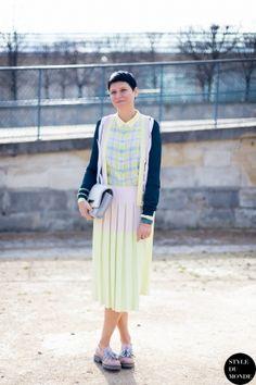 Elisa Nalin Street Style Street Fashion by STYLEDUMONDE Street Style Fashion Blog