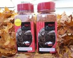 Moe's Private Reserve Multi-Purpose Seasoning & Rub, Fine Spice Company: BBQ lovers will want to check out the original and hot versions of this seasoning and rub, which can be used to coat beef, chicken, and pork, or to make dips.
