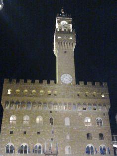 Piazza della Signoria by night