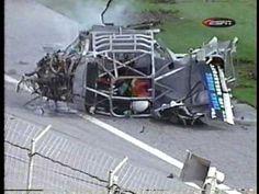 Danny Bagwell Dash series Daytona crash