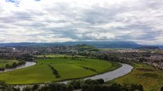 Panoramic of Stirling from Wallace Monument
