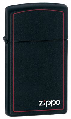 """- Black Matte Finish - Flint Ignition; Windproof Flame; Signature Zippo Click - 2.24"""""""" H x 1.22"""""""" W x .42"""""""" D inches - Made in the USA; Zippo Lifetime Guarantee - Comes Packaged in Black Zippo Branded"""
