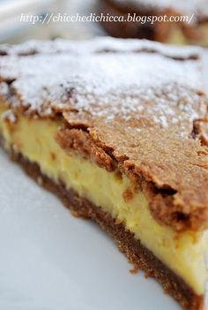 Crostata al Cacao Ripiena di Crema alla Nocciola