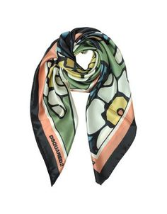 **New arrival** -Blossom Print Silk Square Scarf -   Blossom Print Silk Square Scarf crafted in 100% silk pulls your look together with elegant far east flair. Featuring Geisha crane and cherry blossom graphic with double framed border finished edge and logo. Made in Italy.