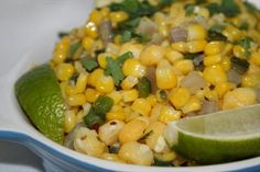 Southwestern Corn and Hominy Saute
