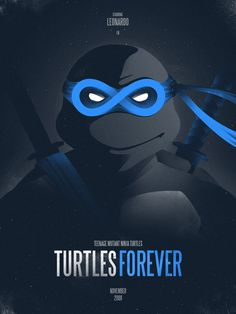 Leonardo Forever Art Print by iwilding | Society6, Teenage Mutant Ninja Turtles