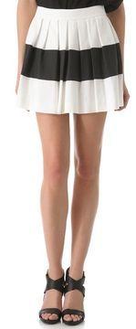 Rachel zoe Mirabelle Pleated Skirt on shopstyle.com