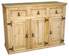 rustic pine furniture buffet | Rustic Pine Buffet - eclectic - buffets and sideboards - by Indeed ...