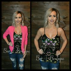 Sequin Sweetheart Tank ~ Follow @bar_t_boutique on Instagram to Shop Weekly New Arrivals!