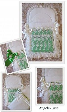 ANGELA LACE @@@@ lots fo  pictures for baby sleeping bags ( baby pouch )