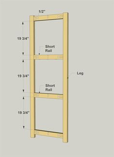 Assemble the Short Rails & Legs Garage Shelving Units, Diy Storage Shelves, Diy Garage Storage, Garage Shelf, Shed Storage, Kreg Tools, Plywood Sheets, Woodworking Projects, Cooking