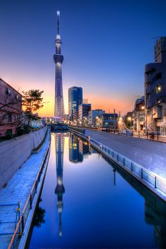 Tokyo Sky Tree - this is the largest telecom tower in the worrrrrldddddddd! Imagine dining there T___T Cry over the view, hope they have ramen for you @c