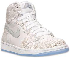 Nike Men's Air Jordan Retro 1 High OG Laser Basketball Shoes