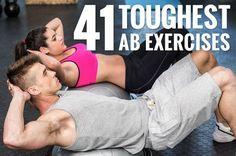 The 41 Hardest Ab Exercises