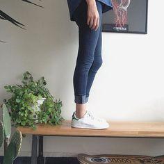 Total denim para fin de semana. Extraño mis Stan Smith verdes que deje en bristol  #stansmith #adidas #jeans #denim #green  #mexicanblogger #fashionblogger #fashionista #outfitoftheday #ootd #black #nike #Blackjeans #zara #mystyle #styleblog #styleblogger #bloggermexicana #like4like #instablog #trendy #instafashion  #denim