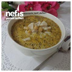 Yoğurtlu Nohutlu Mantı Çorbası Kitchen Art, Mediterranean Recipes, Cheeseburger Chowder, Oatmeal, Food And Drink, Turkey, Yummy Food, Cookies, Baking