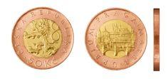 V ČR se momentálně nachází v oběhu celkem 6 různých mincí. Jejich nominální hodnoty jsou 1 Kč, 2 Kč, 5 Kč, 10 Kč, 20 Kč a 50 Kč. Dále pak ale ještě existují tzv. pamětní mince Commemorative Coins, Old And New, Retro, Personalized Items, Historia, Retro Illustration