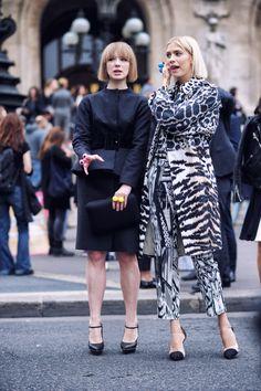 Vika & Elena at Stella Mccartney 14ss